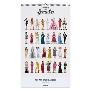 Pop Art Calendar 2020 - Nour Tohme