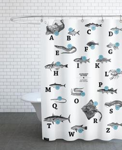 alphabet of fish, animal ABC