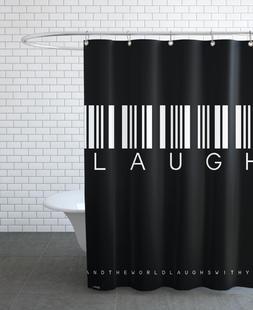 Barcode LAUGH Black