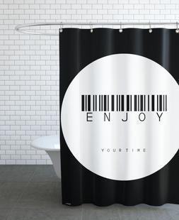 Barcode Enjoy Circle White