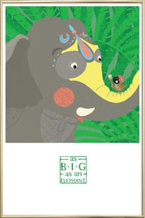As big as an elephant