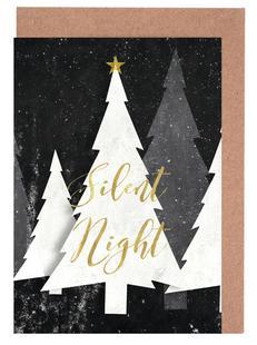 Silent Night Winter Forest