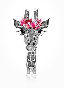 Flower Girl Giraffe