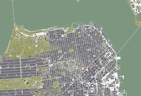San Francisco - Engraving
