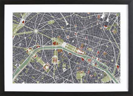Paris Engraving