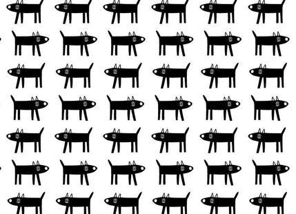dog pattern 1