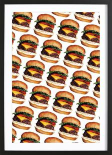 Cheeseburger Pattern