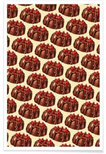 Chocolate Bundt Cake Pattern