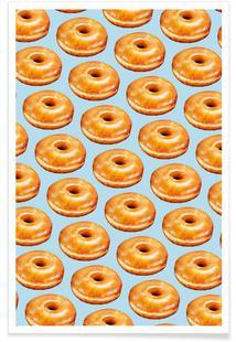 Glazed Doughnut Pattern