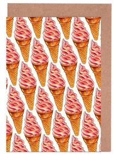 Strawberry Soft Serve Pattern