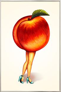 Fruit Stand - Peach