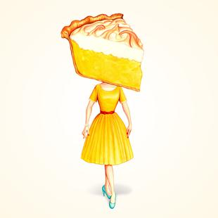 Cake Heads Lemon