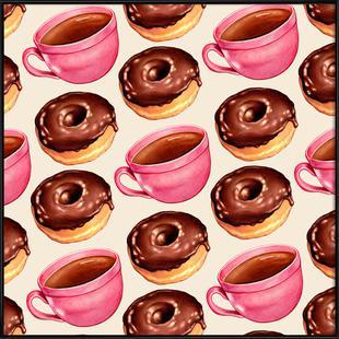 Coffee Patterns Coffee Chocolate
