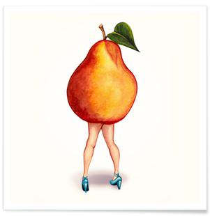 Fruit Girls Pear