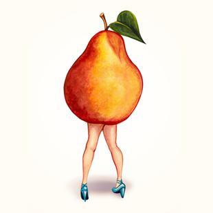 Fruit Girls Pear