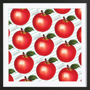 Lunch Patterns Apple Ruled