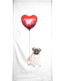Pug & Balloon