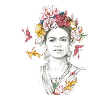Flowered Frida