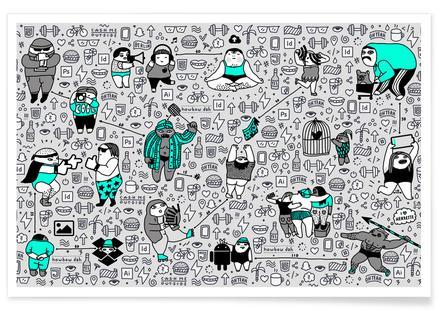 Kool Kids Pattern