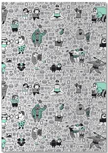 Kool Kids Pattern