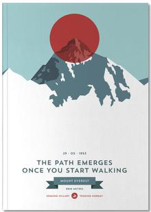 Mount Everest Red