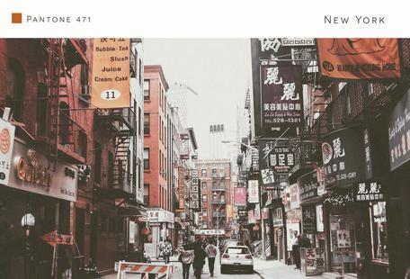 New York Pantone 471