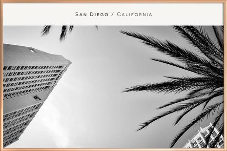 San Diego B&W