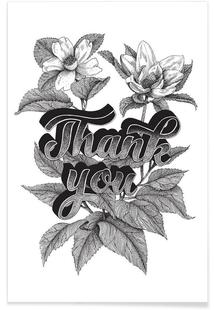 Thank you hand-lettering