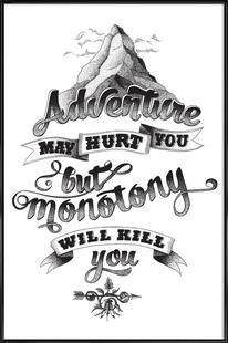 Adventure hand-lettering