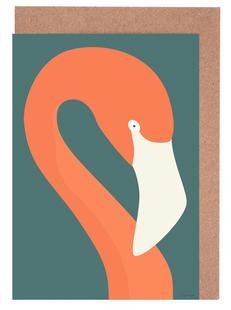 Flamingo Portræt
