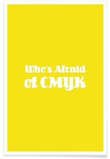 Who's Afraid of CMYK