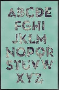 Steampunk Alphabet A-Z
