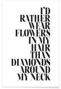 I'd Rather Wear Flowers