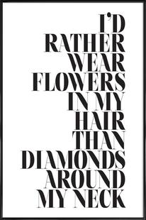 I'd Rather Wear Flowers