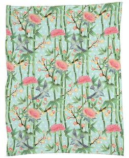 Bamboo Birds and Blossom Mint