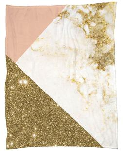 Pink and Gold Marble Collage