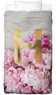 Flower Alphabet H