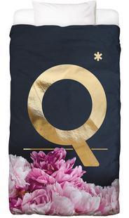 Flower Alphabet Q