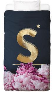 Flower Alphabet S