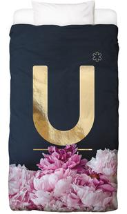 Flower Alphabet U