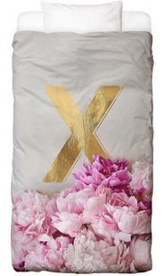 Flower Alphabet X