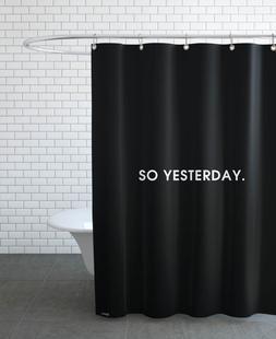 So yesterday - Black