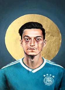 Football Icon - Mesut Özil