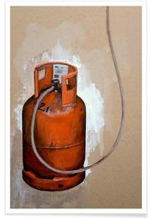 Velo Grablje - Gas Bottle