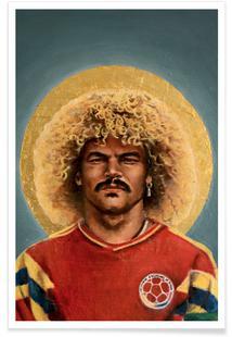 Football Icon - Carlos Valderrama
