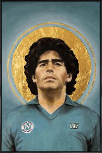Football Icon - Diego Maradona