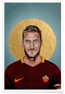 Football Icon - Francesco Totti