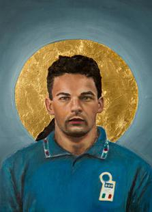 Football Icon - Roberto Baggio