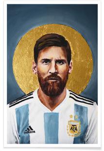 Football Icon - Lionel Messi