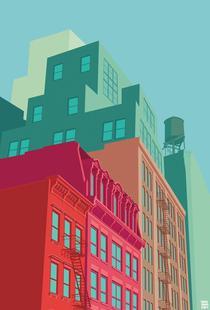 Mulberry Street Soho New York City